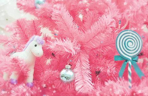 Pink Christmas Tree Wallpaper Tumblr